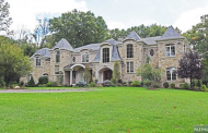 $4.2 Million Stone & Stucco Mansion In Saddle River, NJ