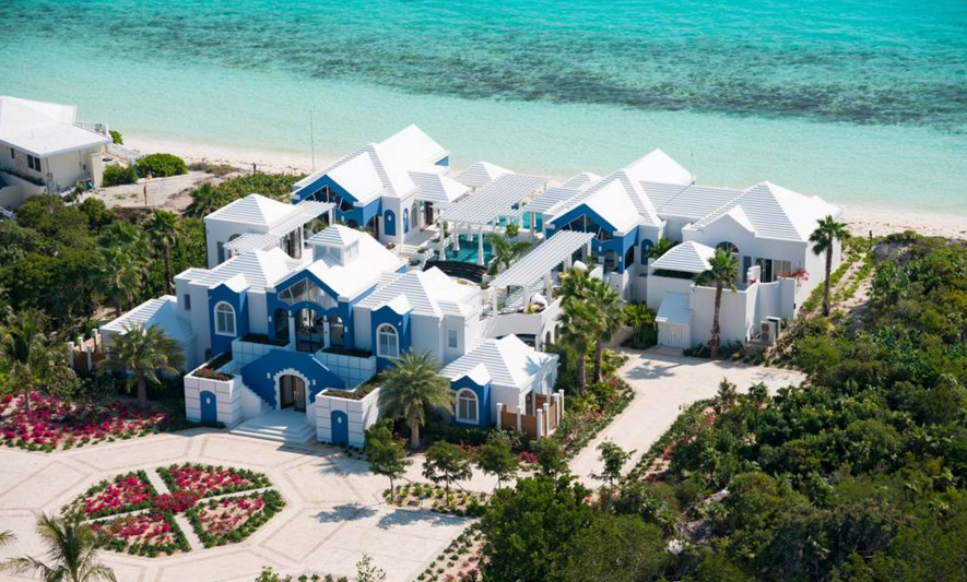 Mandalay – A $12.5 Million Beachfront Mansion In The Turks And Caicos