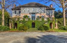 10,000 Square Foot Brick & Stucco Mansion In Atlanta, GA