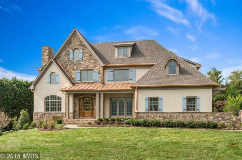 $3.595 Million Newly Built Stone & Stucco Home In McLean, VA