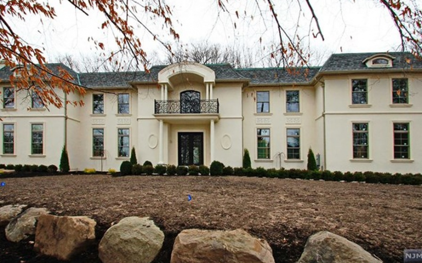 12,000 Square Foot Newly Built French Inspired Mansion In Demarest, NJ