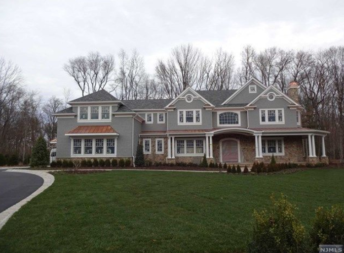 10,000 Square Foot Newly Built Stone & Shingle Mansion In Saddle River, NJ