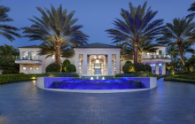 Incredible $39.95 Million Newly Built 31,000 Square Foot Oceanfront Mega Mansion In Delray Beach, FL