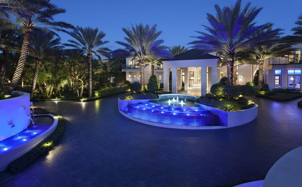 Incredible million newly built 31 000 square foot for Mega mansions in florida