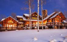 $7.895 Million Log Mansion On 160 Acres In Kamas, UT