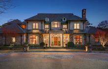 10,000 Square Foot Brick & Stone Mansion In Atlanta, GA