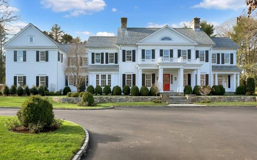 $7.295 Million Newly Built Colonial Mansion In Greenwich, CT