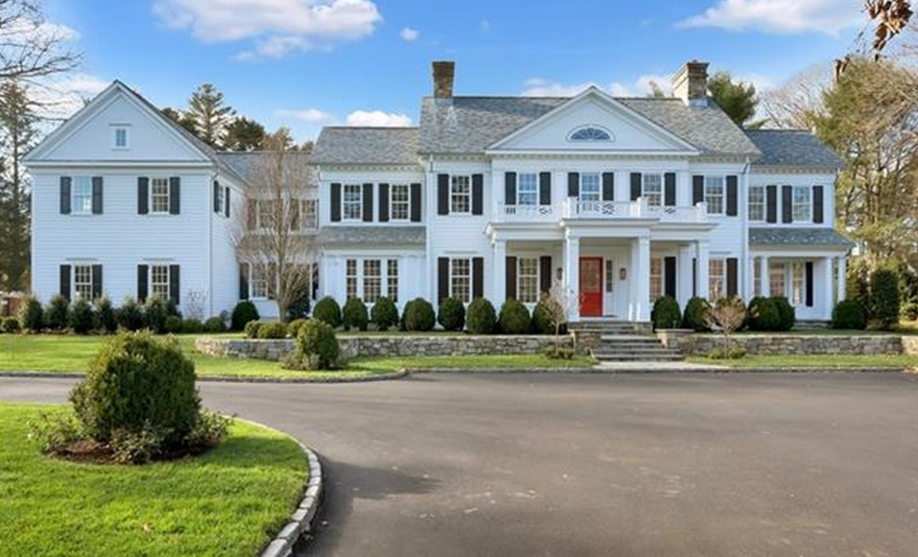 7 295 million newly built colonial mansion in greenwich