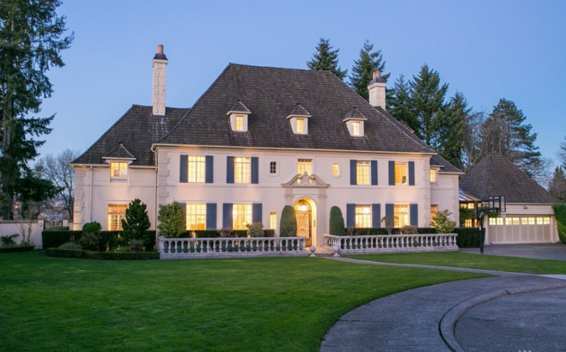 $5.75 Million French Inspired Mansion In Seattle, WA