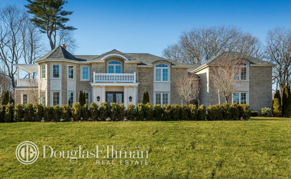 $4.9 Million Newly Built Brick Colonial Home In Rye Brook, NY