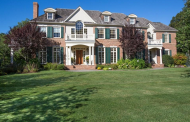 $3.85 Million Brick Georgian Colonial Mansion In Wellesley, MA