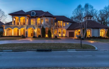 $2.1 Million Country Club Mansion In Brentwood, TN