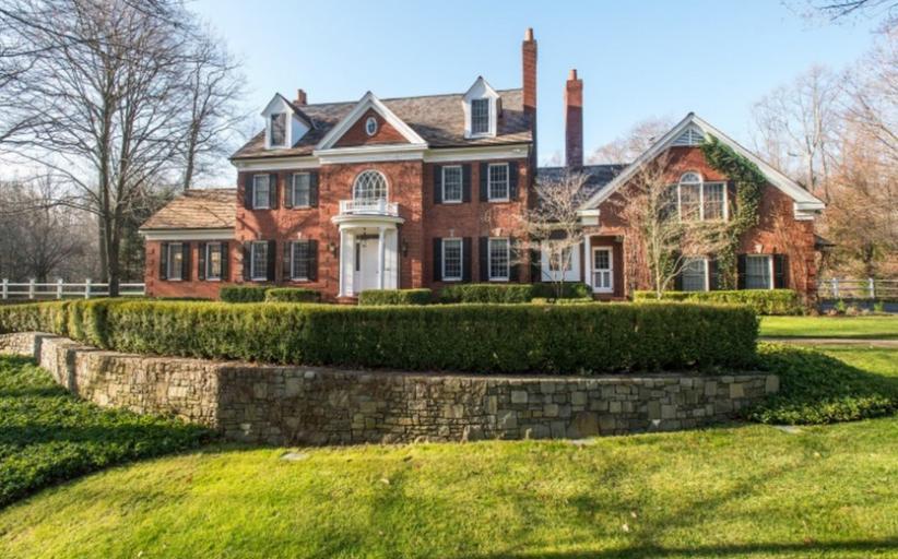 $3.795 Million Brick Georgian Home In Greenwich, CT