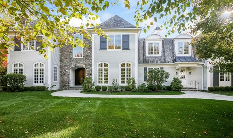$4.35 Million Colonial Home In Purchase, NY