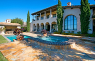 $18 Million 13,000 Square Foot Tuscan Inspired Mansion In Irvine, CA
