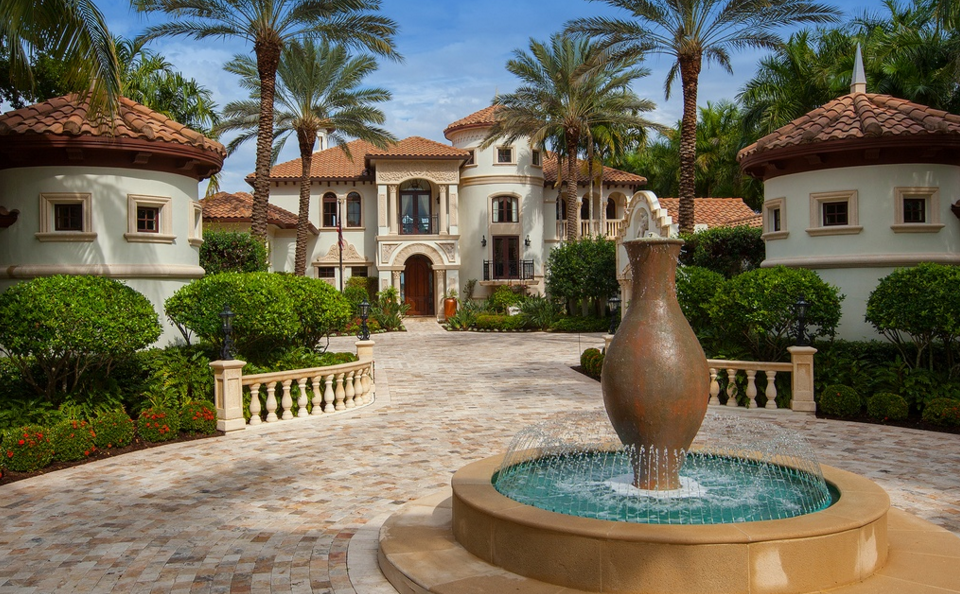 Villa Venezia – A $9.9 Million Mediterranean Waterfront Mansion In Marco Island, FL
