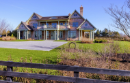 11,000 Square Foot Newly Built Shingle Style Mansion In Bridgehampton, NY