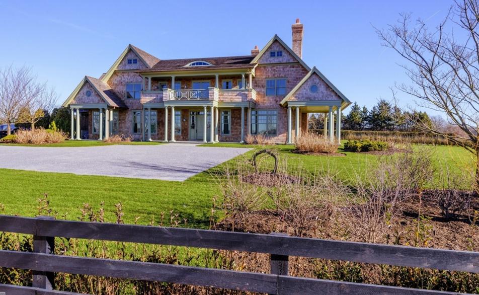 11,000 Square Foot Newly Built Shingle Style Mansion In Bridgehampton, NY