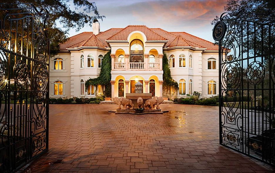 Opulent 12 000 square foot mansion in sugar land tx for Home building cost per square foot texas