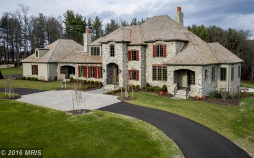 10,000 Square Foot Newly Built Mansion On A 20-Acre Farm In Woodbine, MD