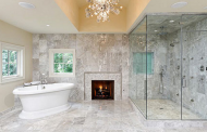 16 Ultra Luxurious Bathrooms With Fireplaces
