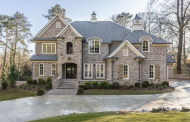 $2.6 Million Newly Built Brick & Stone Mansion In Atlanta, GA