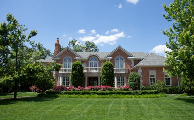 $3.85 Million Brick Colonial Mansion In Cresskill, NJ