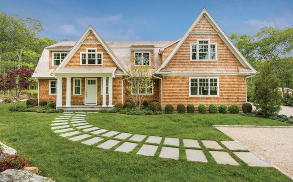 $3.45 Million Newly Built Shingle Home In Southampton, NY
