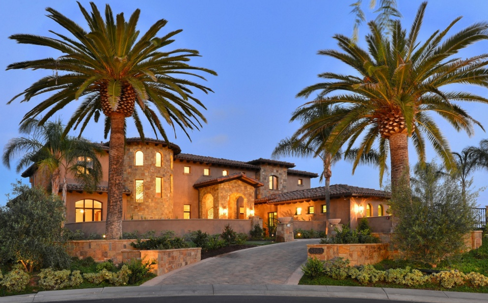 $4.85 Million Newly Built Stone & Stucco Home In San Diego, CA