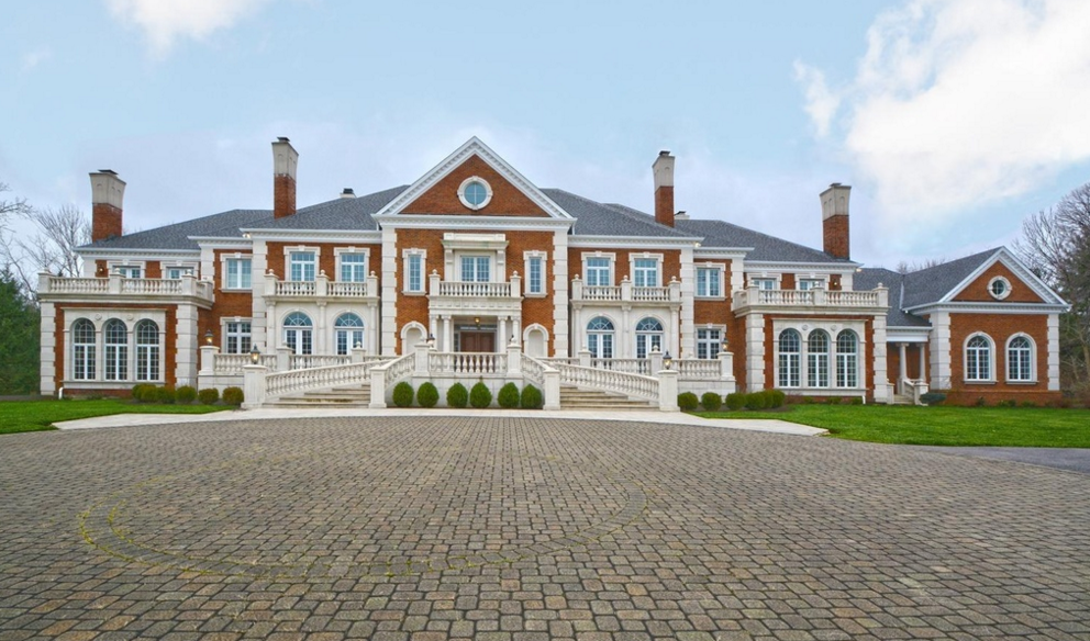 20 000 square foot stately brick mansion in cincinnati oh for House plans over 20000 square feet
