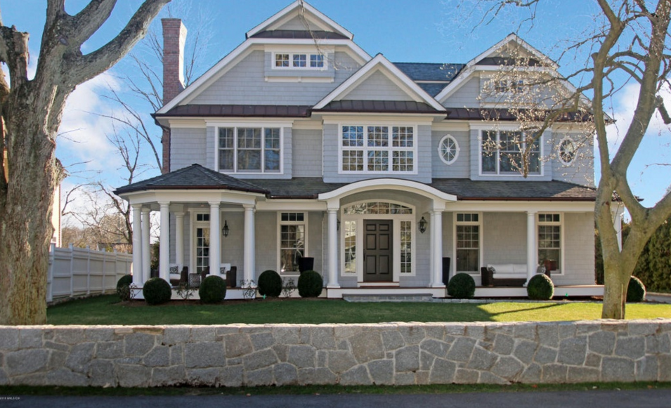 $4.495 Million Colonial Shingle Home In Riverside, CT