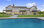 $9.995 Million Newly Built Shingle & Wood Mansion In Bridgehampton, NY