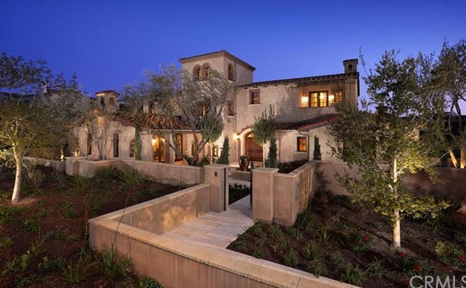 $9 Million Tuscan Inspired Mansion In Irvine, CA