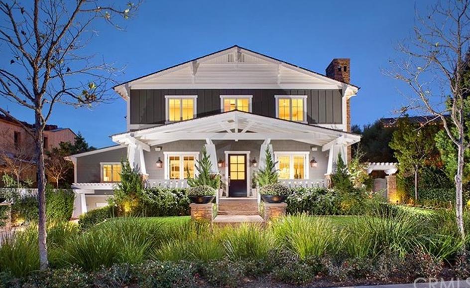 $5.195 Million Craftsman Style Mansion In Ladera Ranch, CA With 10-Car Subterranean Garage