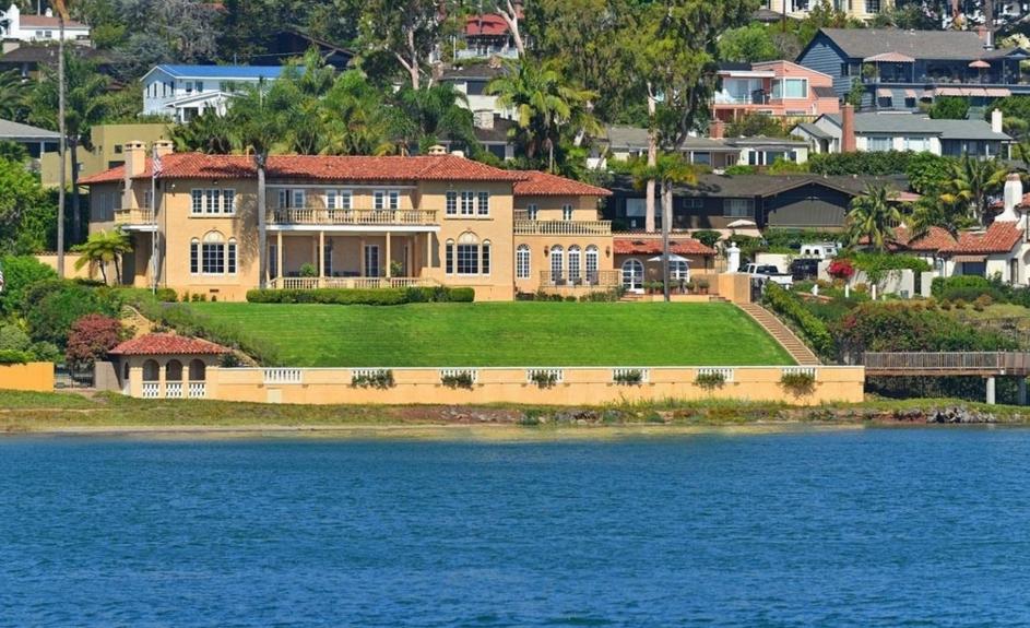 $14.75 Million Mediterranean Waterfront Home In San Diego, CA
