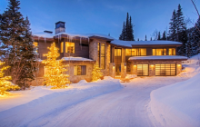 $8.45 Million Newly Built Contemporary Mansion In Park City, UT
