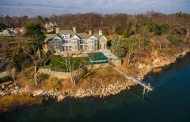 $11.9 Million Waterfront Stone Mansion In Norwalk, CT