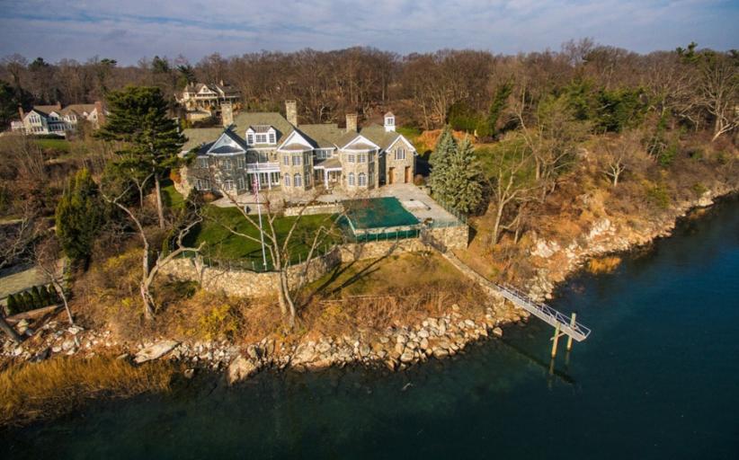 $11.9 Million Waterfront Stone Mansion In Norwalk, CT