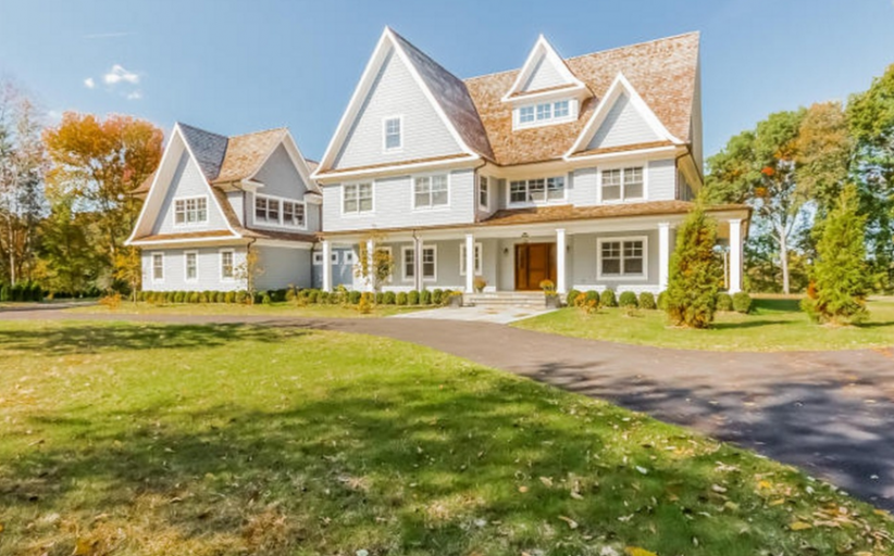 13,000 Square Foot Colonial Mansion In Greenwich, CT