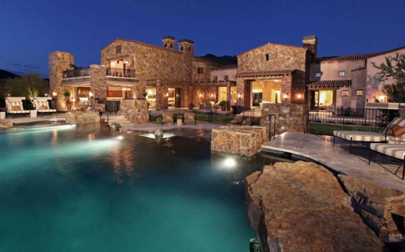 20,000 Square Foot Mega Mansion In Scottsdale, AZ Re-Listed