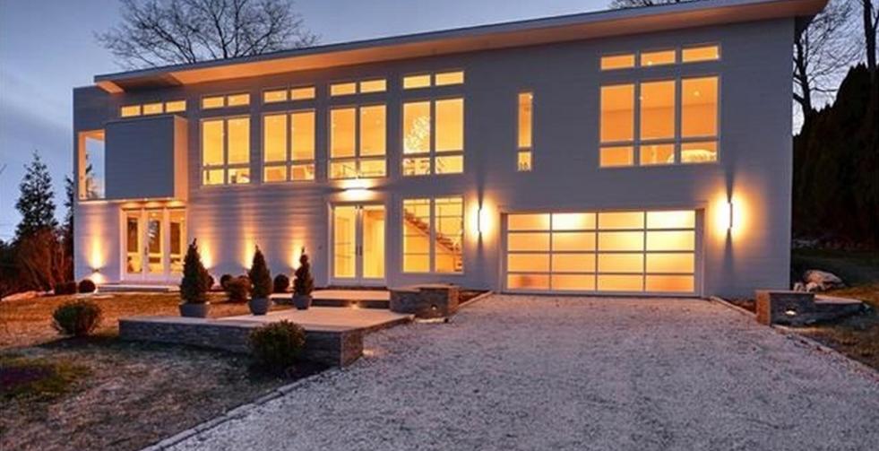 $3.3 Million Newly Built Modern Home In Westport, CT