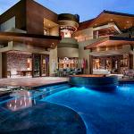 Rear Exterior Pool