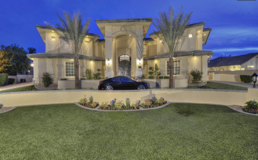 Entertainer's Estate In Tempe, AZ Re-Listed
