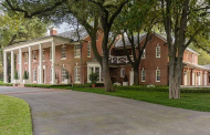 $14.5 Million Historic Brick Georgian Mansion In Dallas, TX