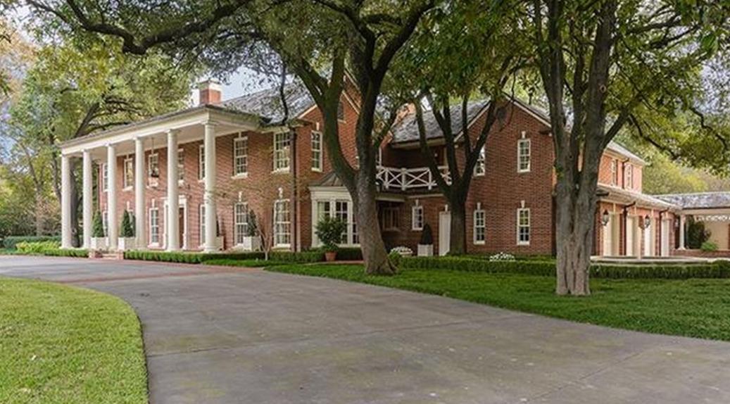 $14.5 Million Historic Brick Georgian Mansion In Dallas, TX