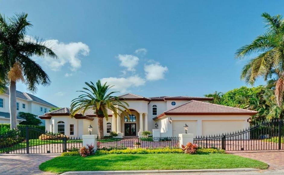 $4 Million Mediterranean Waterfront Home In Boca Raton, FL