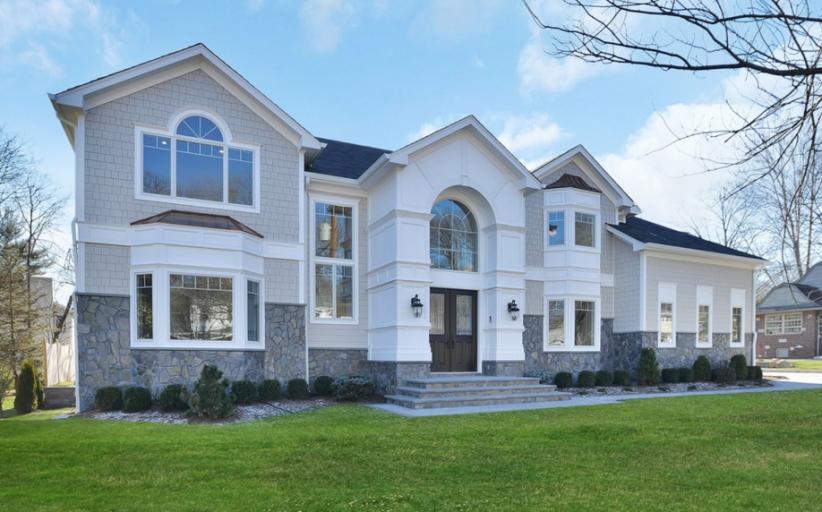 $2.4 Million Newly Built Stone & Shingle Home In Tenafly, NJ