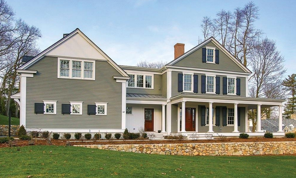 $4.195 Million Newly Built Colonial Home In Newton, MA
