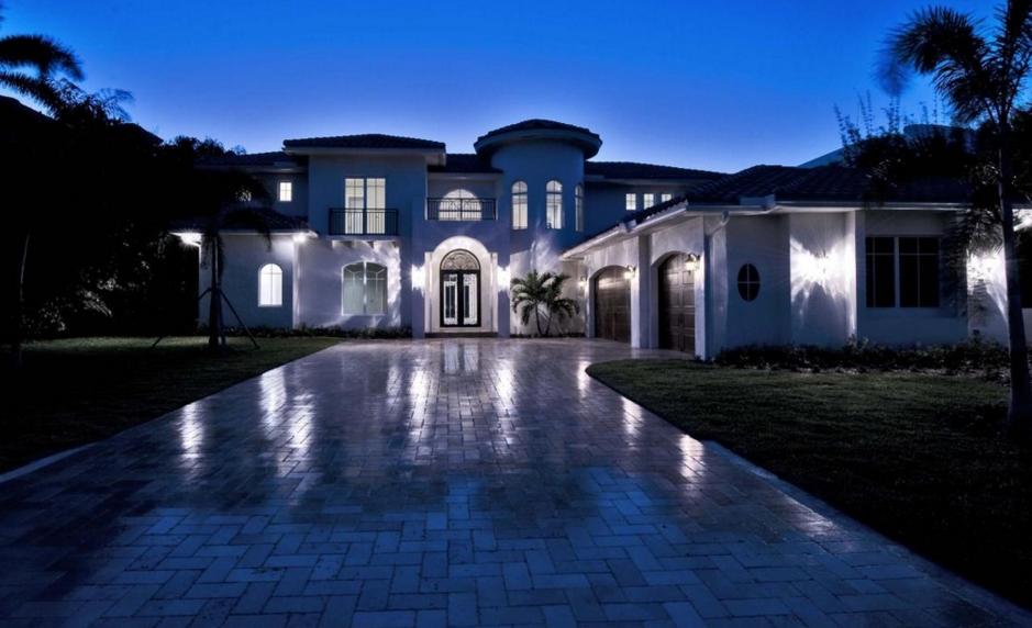 $5.995 Million Mediterranean Waterfront Home In Boca Raton, FL