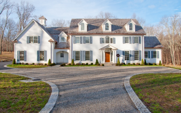 $4.15 Million Charming Newly Built Colonial Home In Katonah, NY
